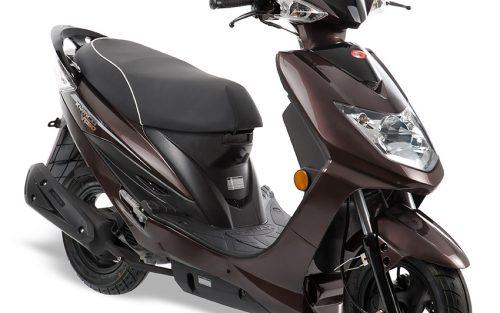 Kymco VP50 E4 bruin scooter
