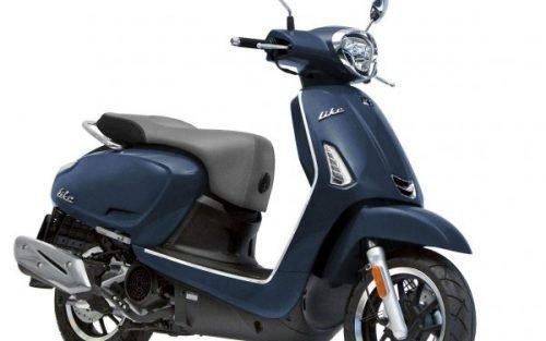Kymco newLike blauw scooter